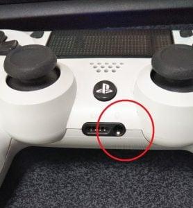 PS4ヘッドセット挿し口